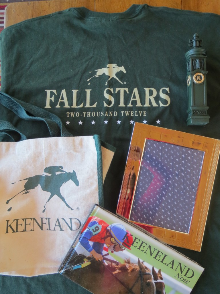 T-shirts, hitching posts, totes, books and beautiful Keeneland frames!